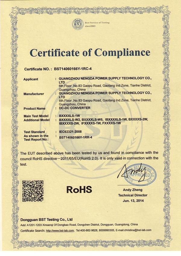 IB0505LS-1W ROHS